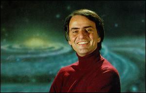 Carl Sagan quote ~ The magic of books