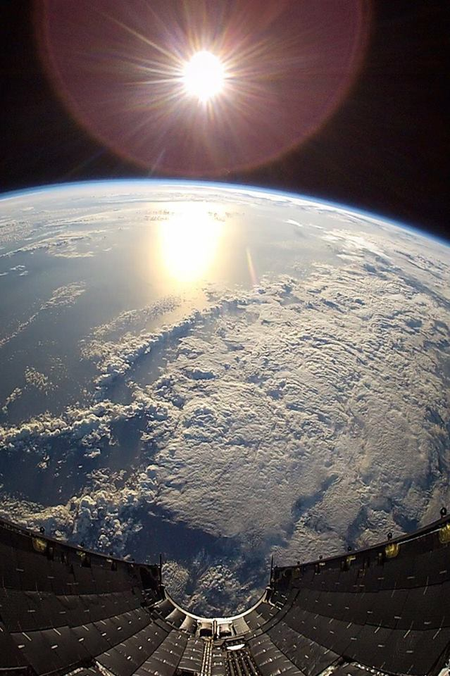 View from the fairing during SES-10 mission. #EarthDay