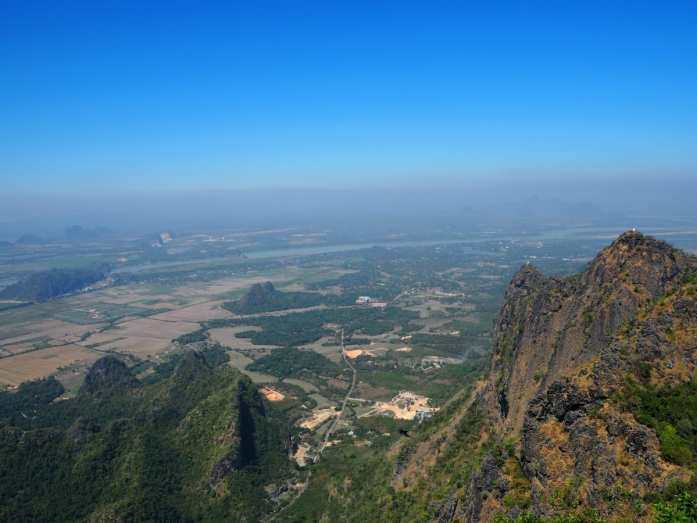 Views from Mount Zwegiban