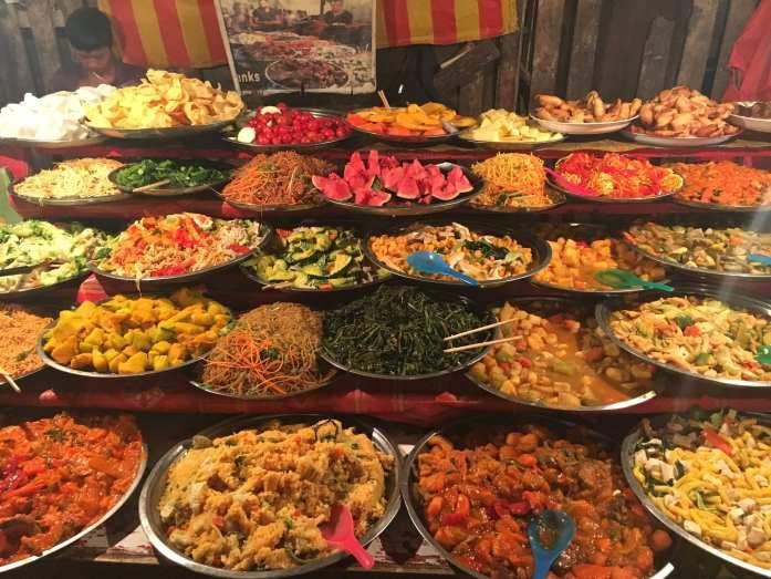 An assortment of Laotian Cuisine