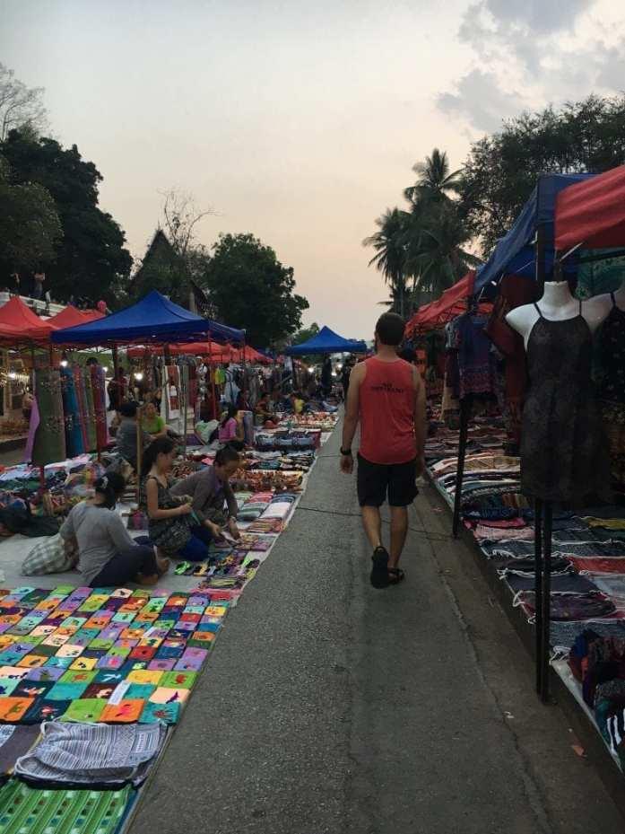 Luang Prabang Laos Night Market