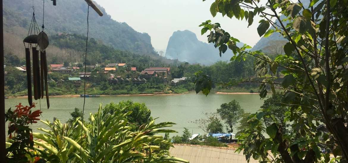Village life in beautiful Nong Khiaw