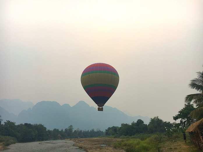 Hot Air Balloons in Laos