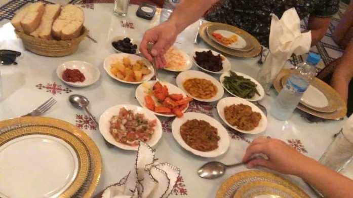 Moroccan Salads & Khobz Bread