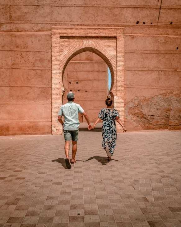 Exploring the Marrakesh Medina