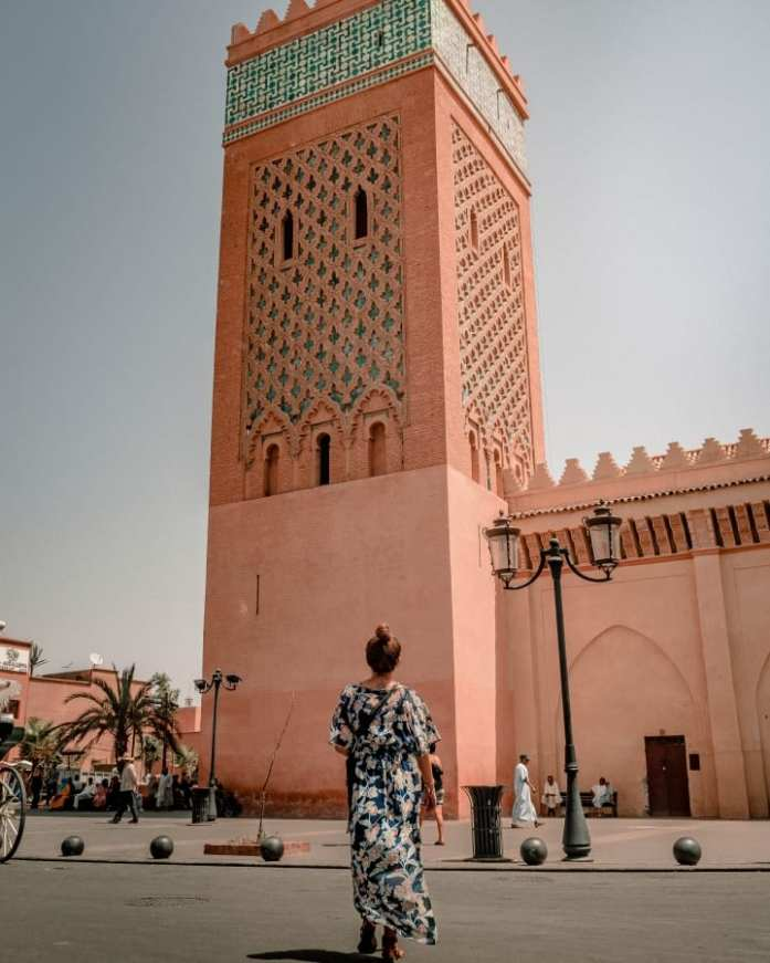 Taking in The Views of Moulay El Yazid Mosque