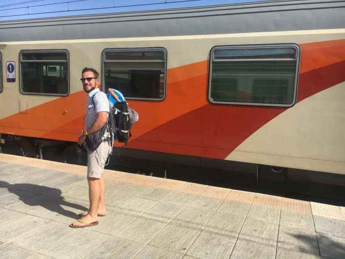 The train from Marrakesh to Fes