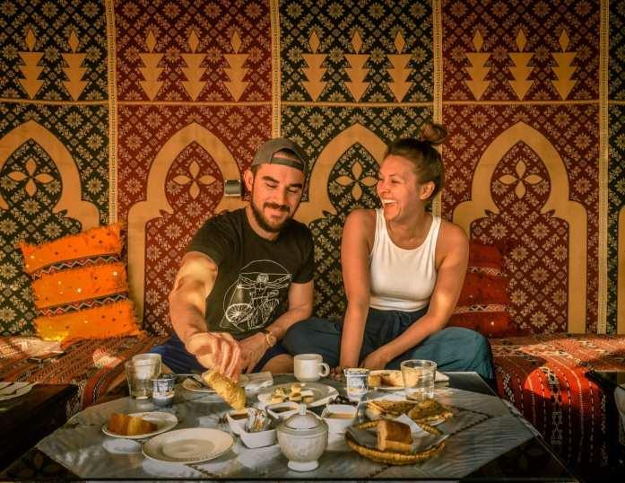 Breakfast at Dar Borj