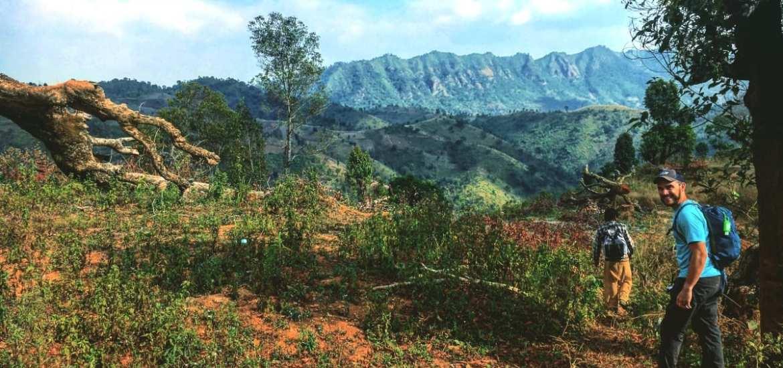 Trekking from Kalaw to Inle Lake in Northern Myanmar