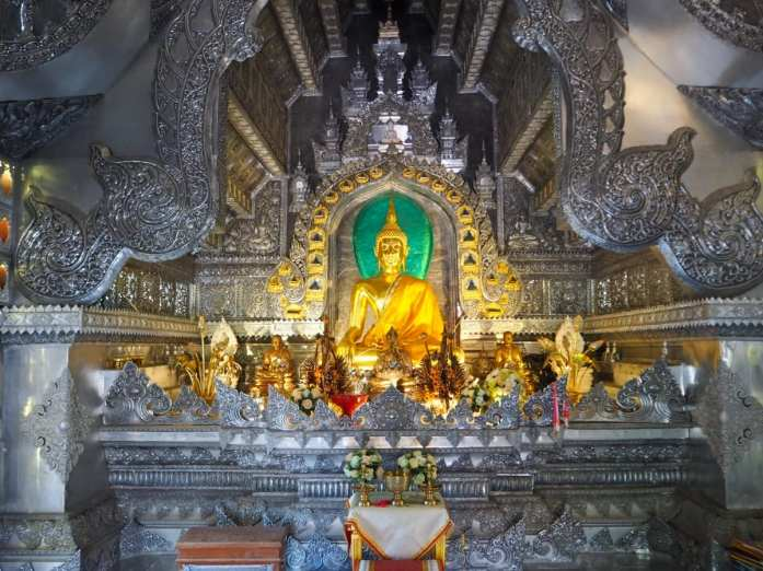 Wat Sri Suphan Golden Buddha