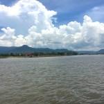 Kampot, Cambodia riverfront