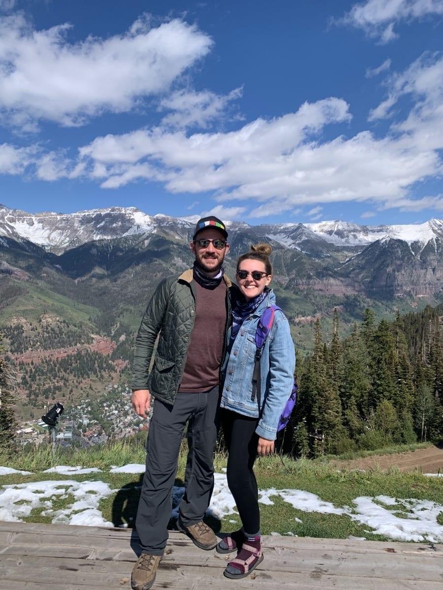 Lauren & Jesse in Telluride