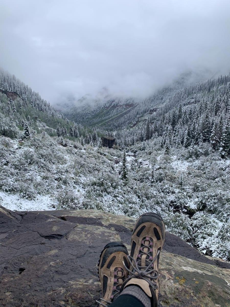 Bear Creek trail viewpoint