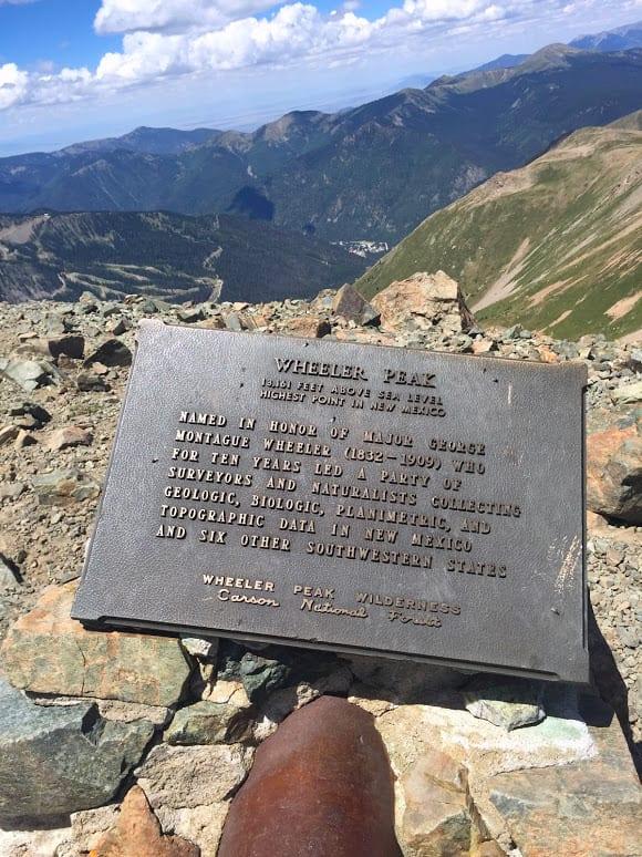 Summit of Wheeler Peak