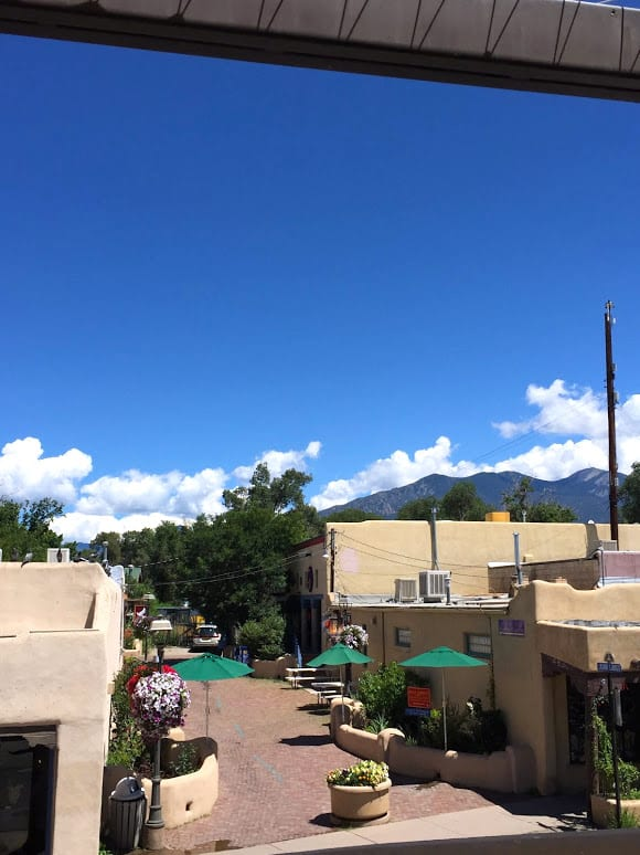 Views of the Taos Plaza
