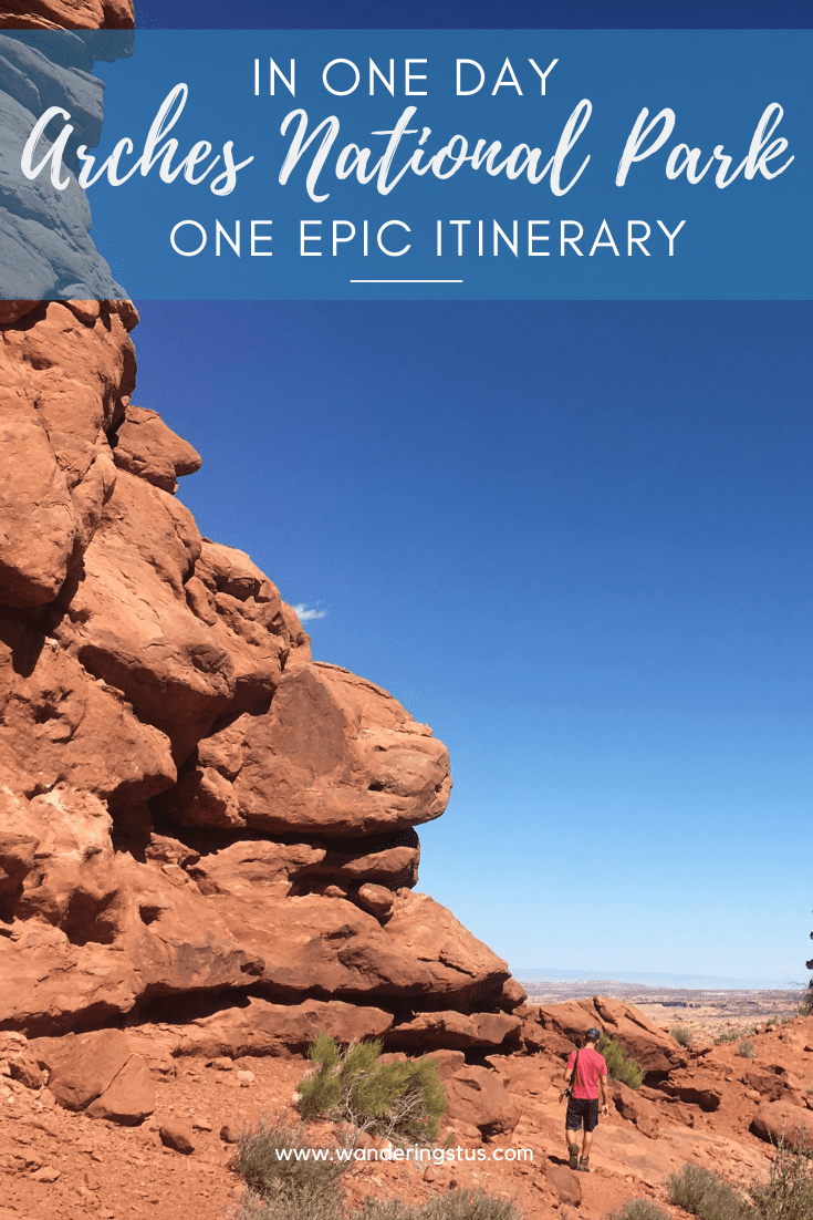 Arches National Park in One Day Pin