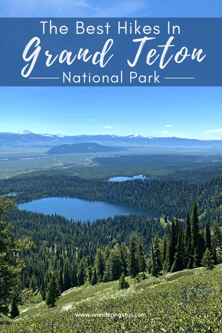 Hikes in Grand Teton Pin