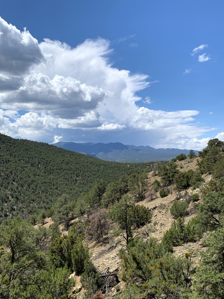Lush, mountainous views from Devisadero Loop Trail