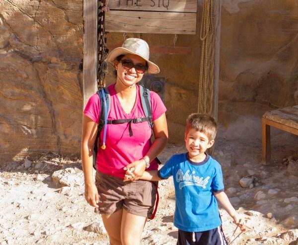Petra entering the siq