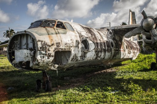 Ruined Airplane