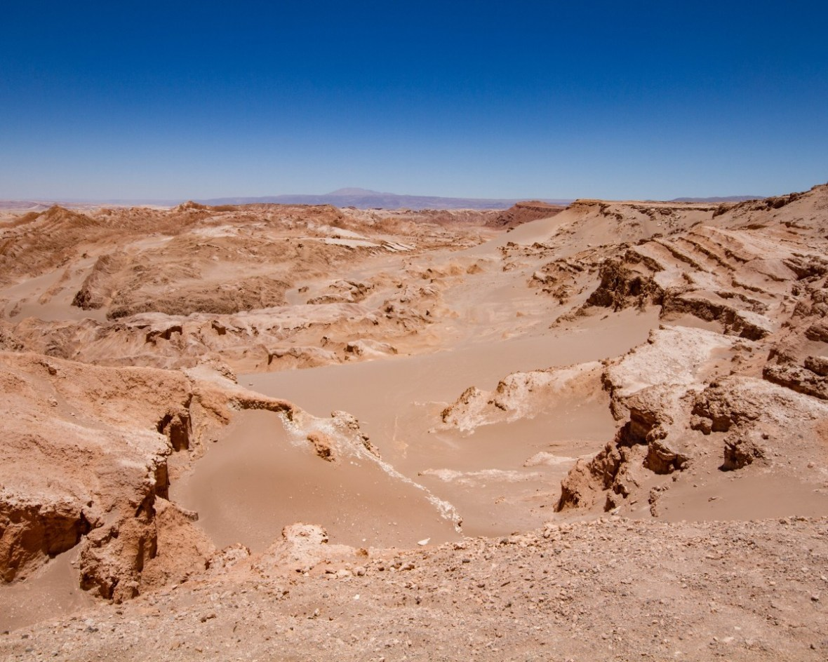 Landscape of the Valley of the Dead in Chile