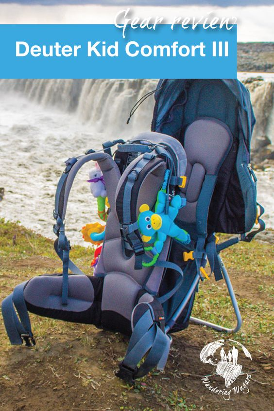 Gear Review Deuter Kid Comfort III - Pinterest