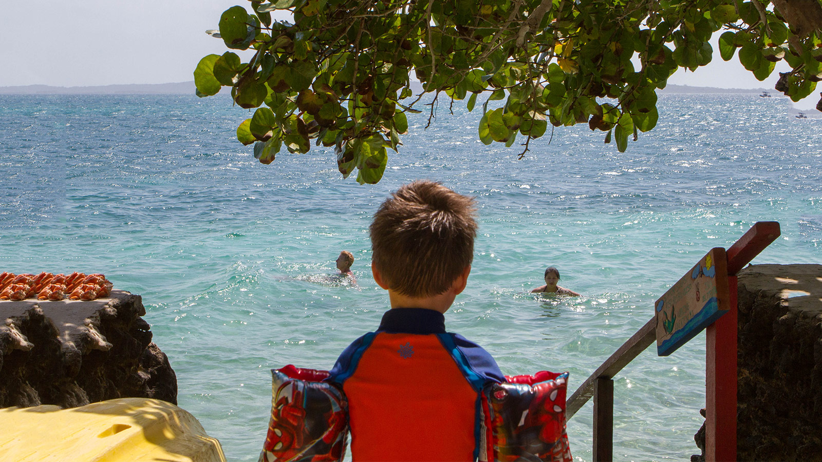 Escape to Pirate Island in Colombia with Kids - Wandering Wagars