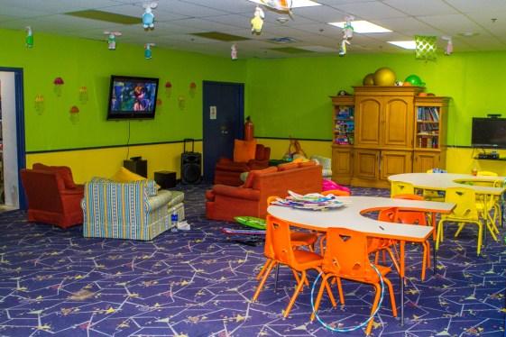Kids club at the Fairmont Southampton.