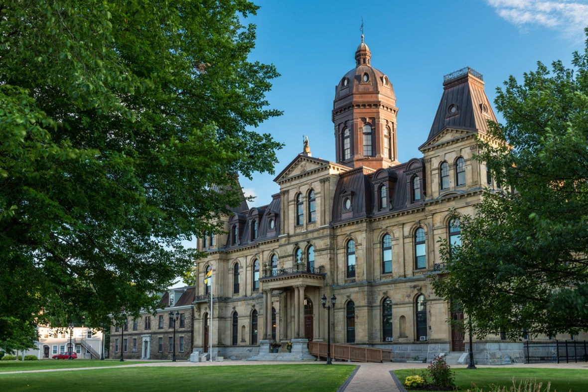 New Brunswick Legislative Building in Fredericton is one of the most amazing places in Canada