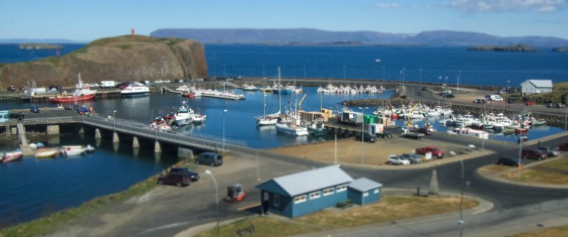 The-ferry-and-marina-at-Brjwansaekur-in-Icelands-westfjords