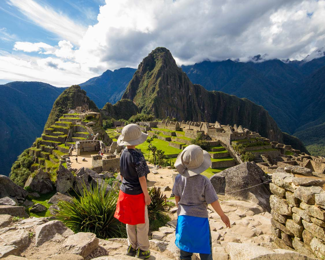 Thinking about visiting Machu Picchu with kids? Don't be worried! Visiting Machu Picchu with children isn't hard. In fact, it can be life changing!