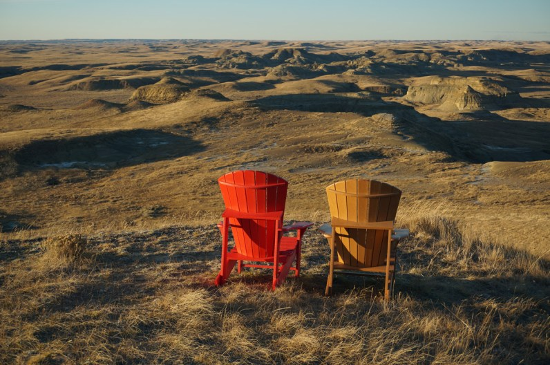 Grasslands National Park in Saskatchewan