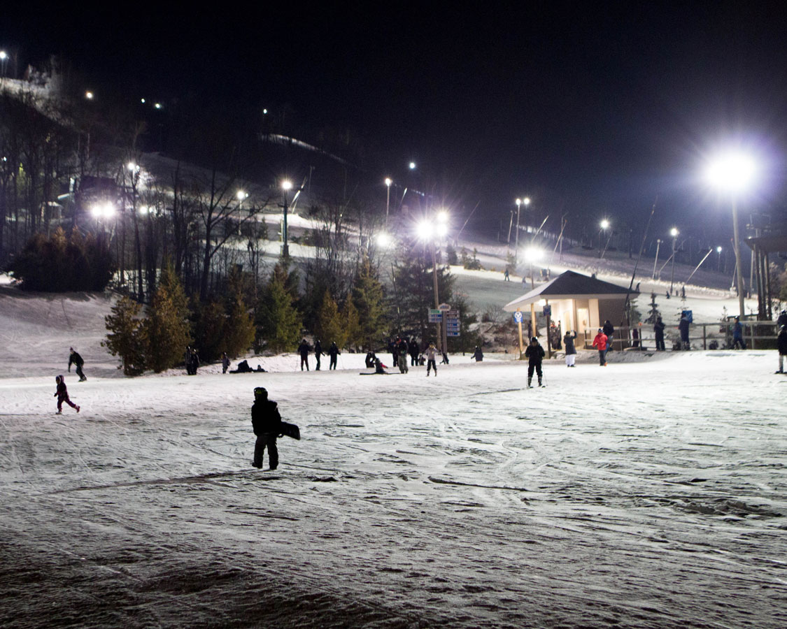 A ski resort on a Japan Ski Holiday