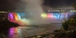 Winter in Niagara Falls with kids