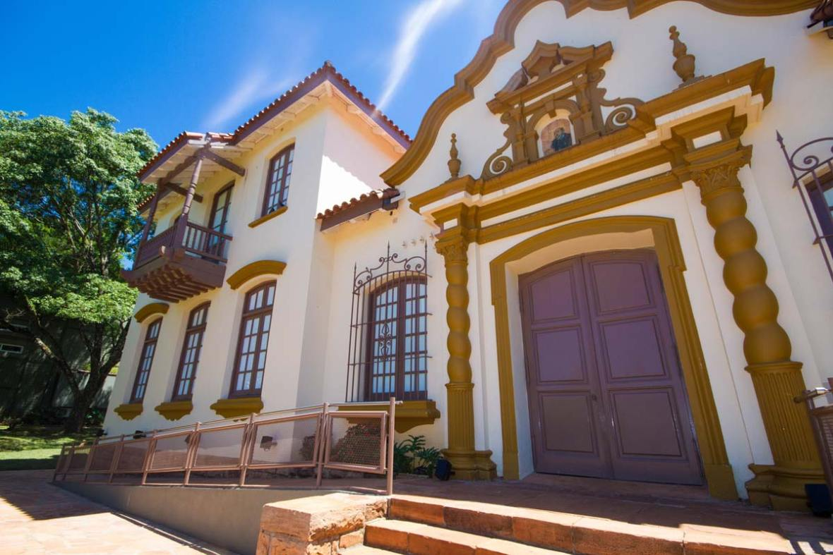 Colonial Style Museum in San Ignacio Mini in San Ignacio Argentina