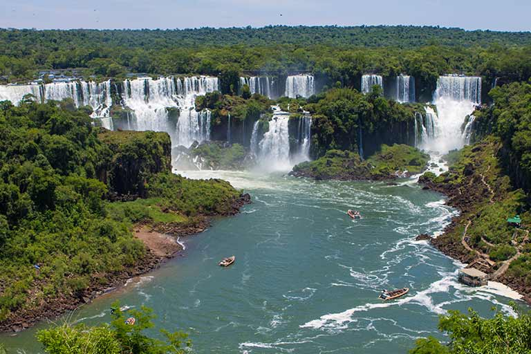 How to experience Iguazu Falls Brazil with kids