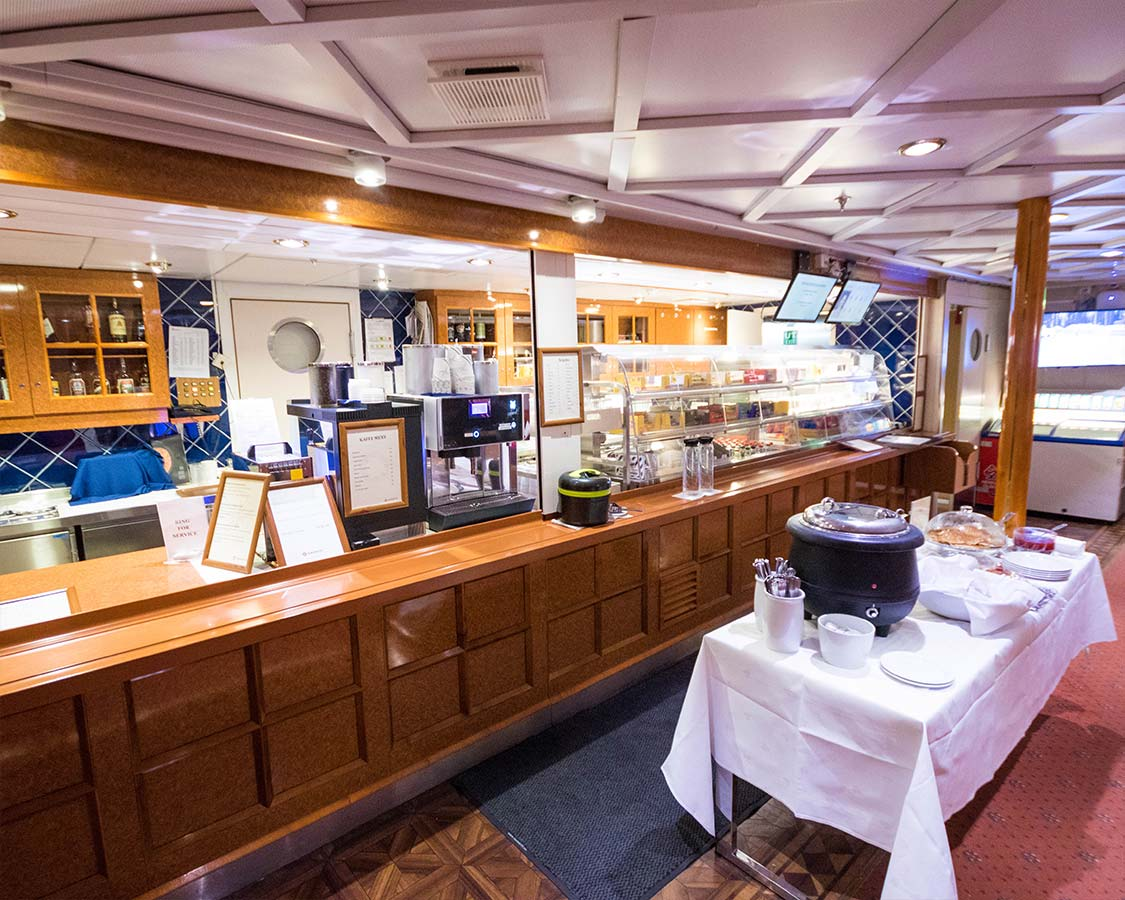 Hurtigruten Coast Cruise Cafeteria
