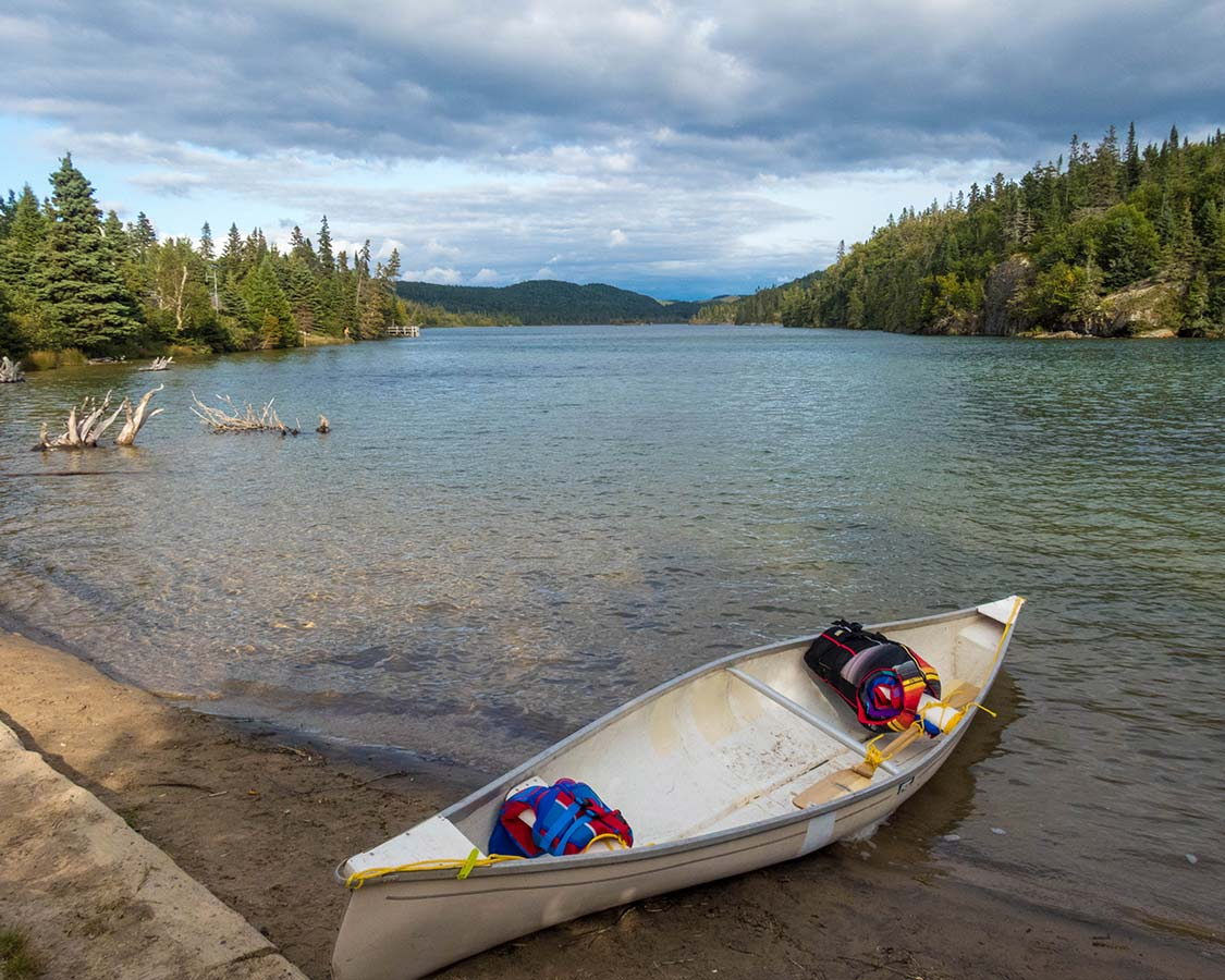 Backcountry Caneoing in Pukaskwa National Park