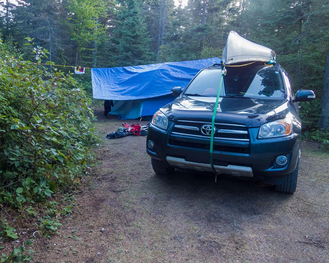 Camping in Pukaskwa National Park