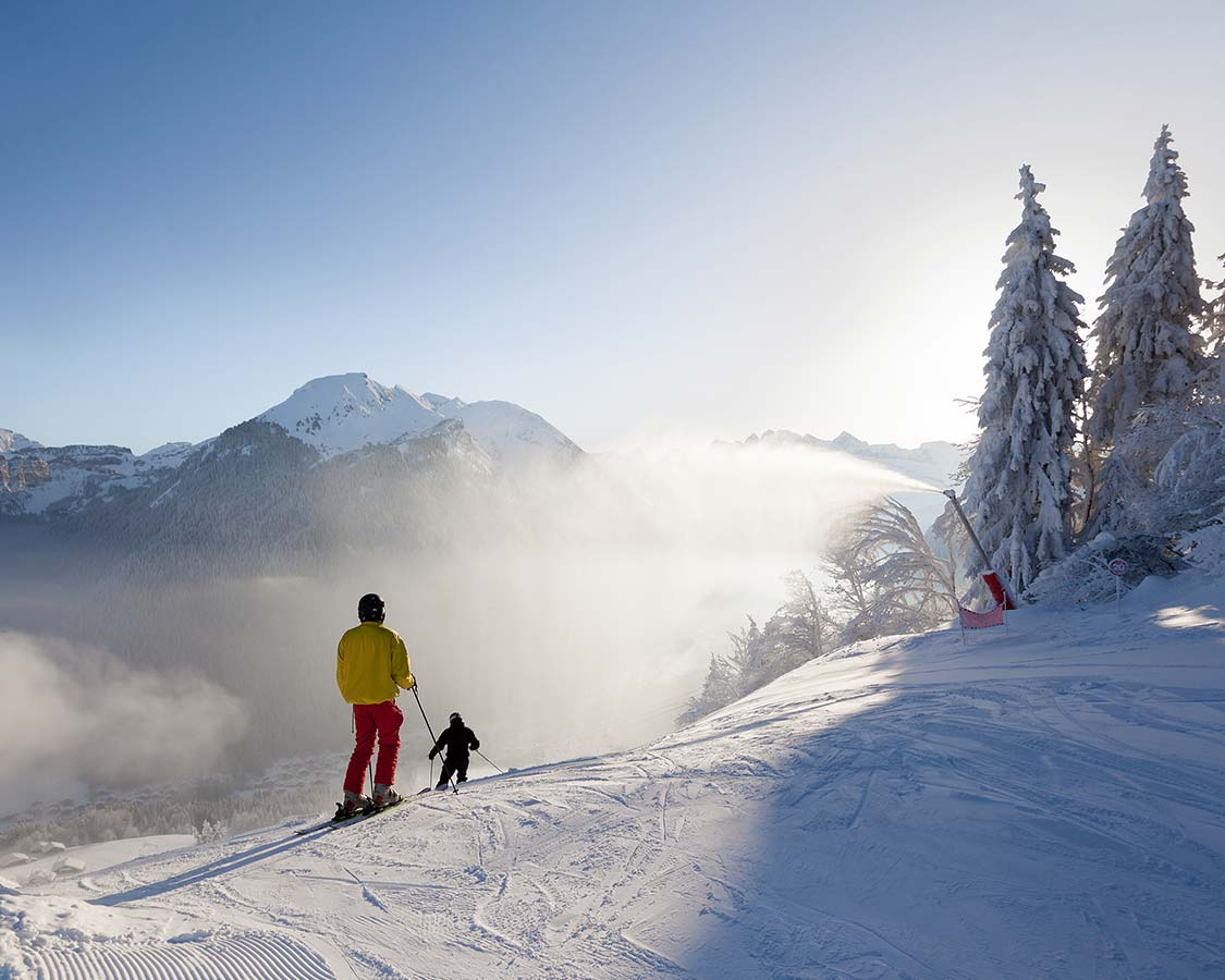 Best Destinations For a Family Ski Holiday French Alps