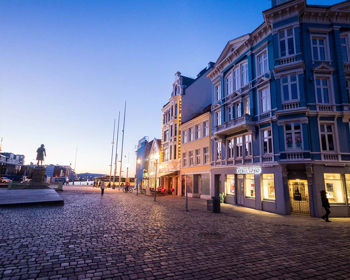 Things To Do in Bergen Norway at Dusk