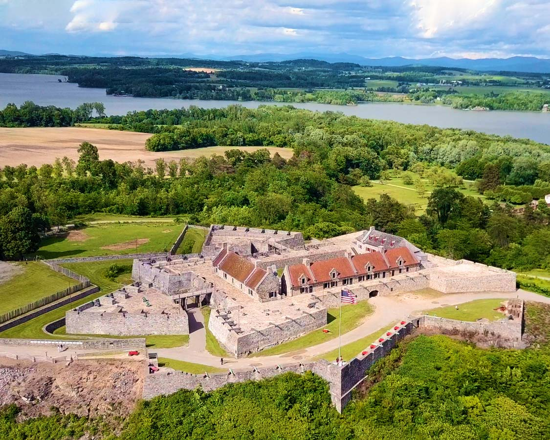 Things to do in the Adirondacks - Fort Ticonderoga