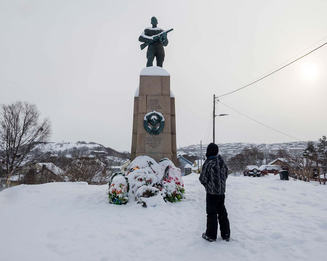 Attractions in Kirkenes Norway Soviet Liberation Monument