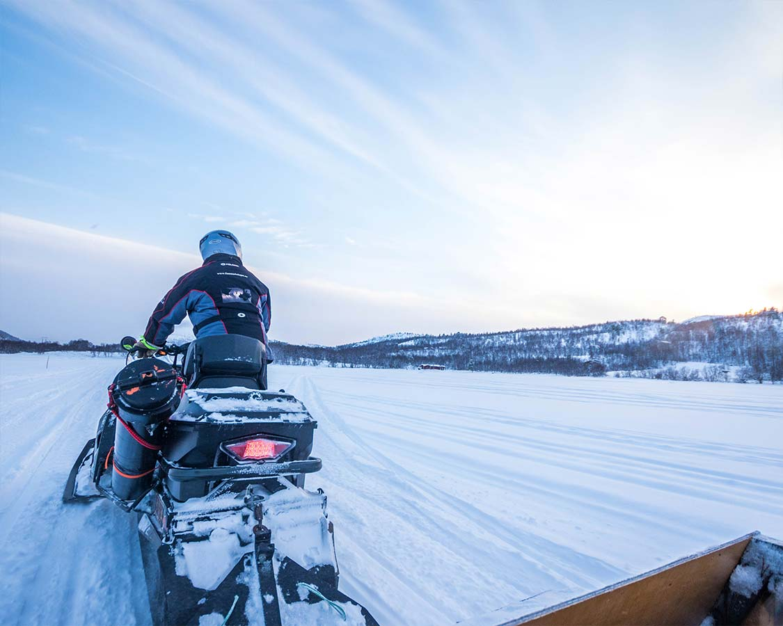 Kirkenes Things To Do Snowmobile Safari