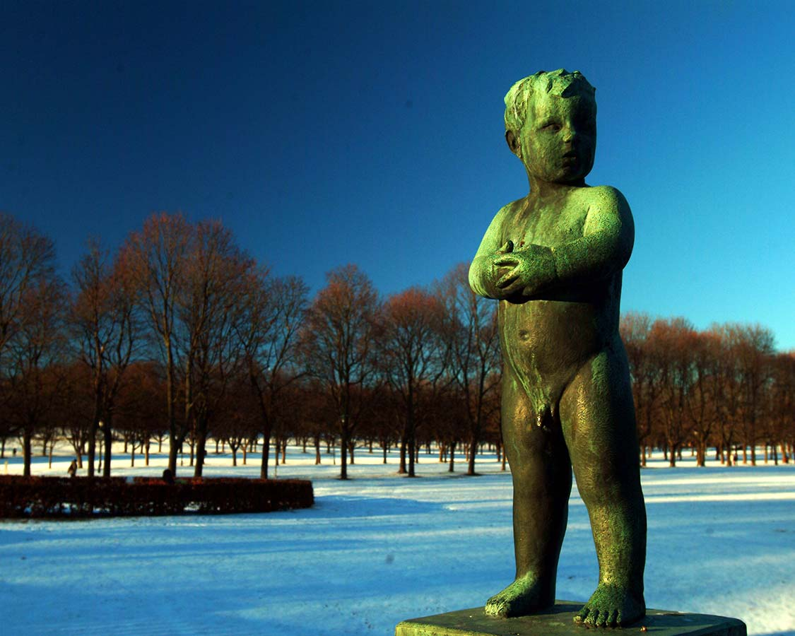 One day in Oslo with kids Frogner Park and the Vigeland Statues