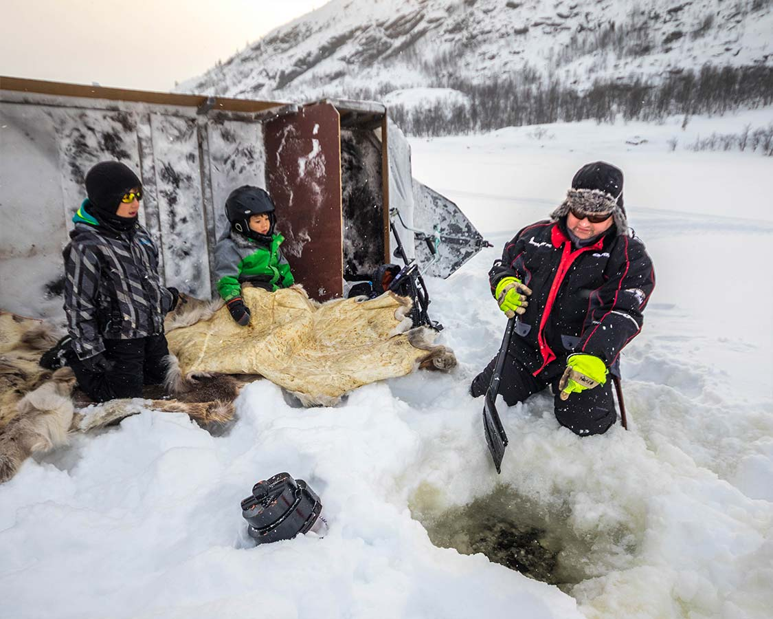 Things To Do in Kirkenes Norway Fjord Ice Fishing