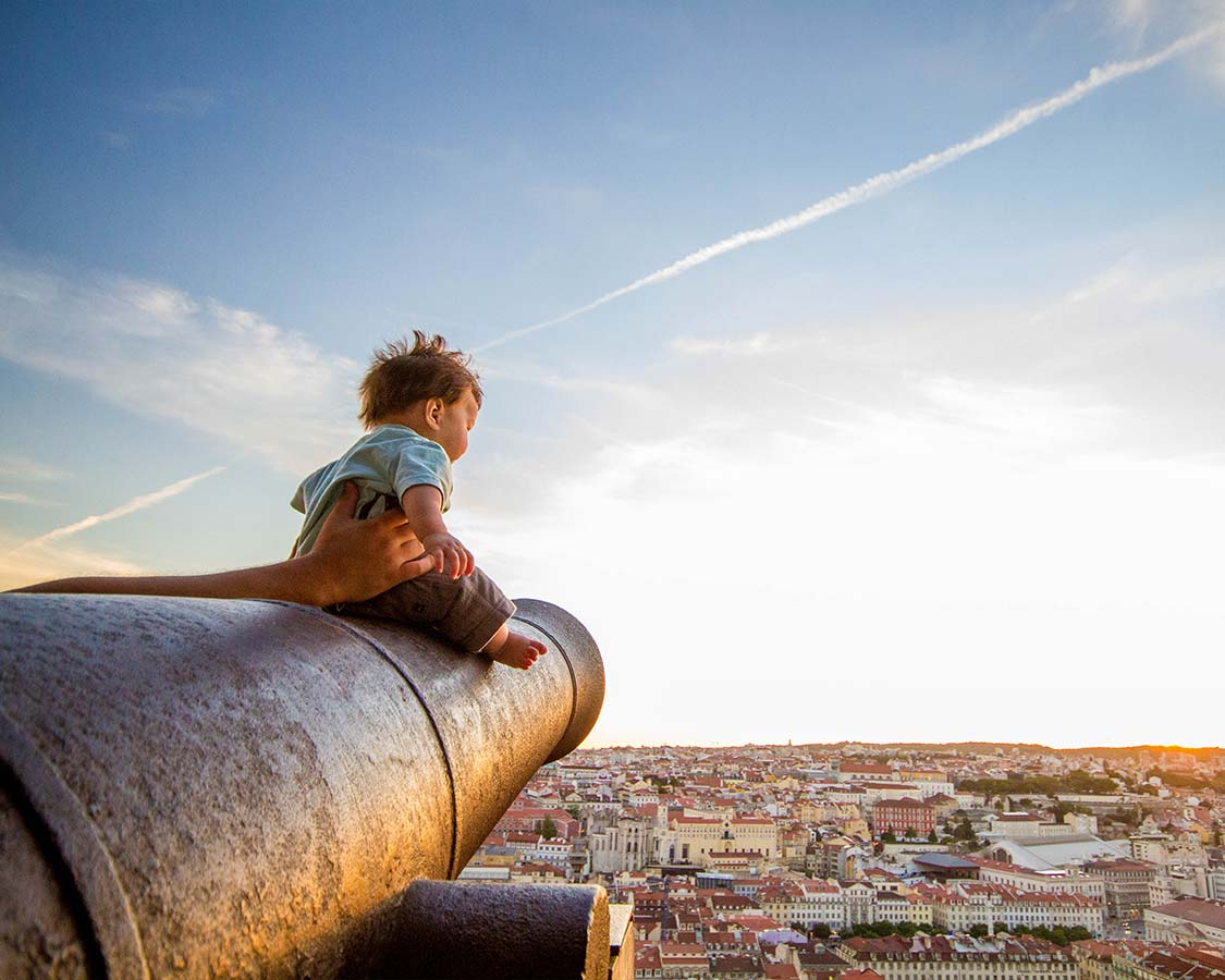 Things To Do In Lisbon For Families Castelo do Sao Jorge