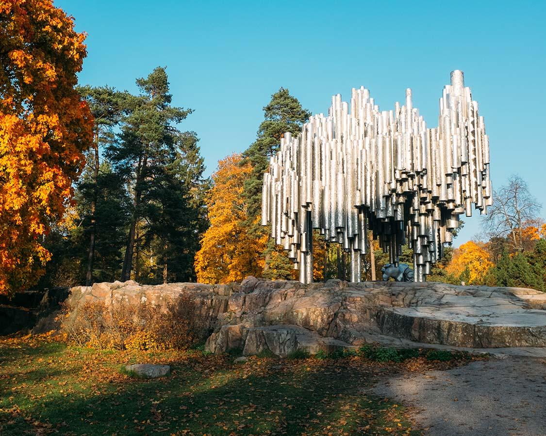 Helsinki things to do Sibelius monument