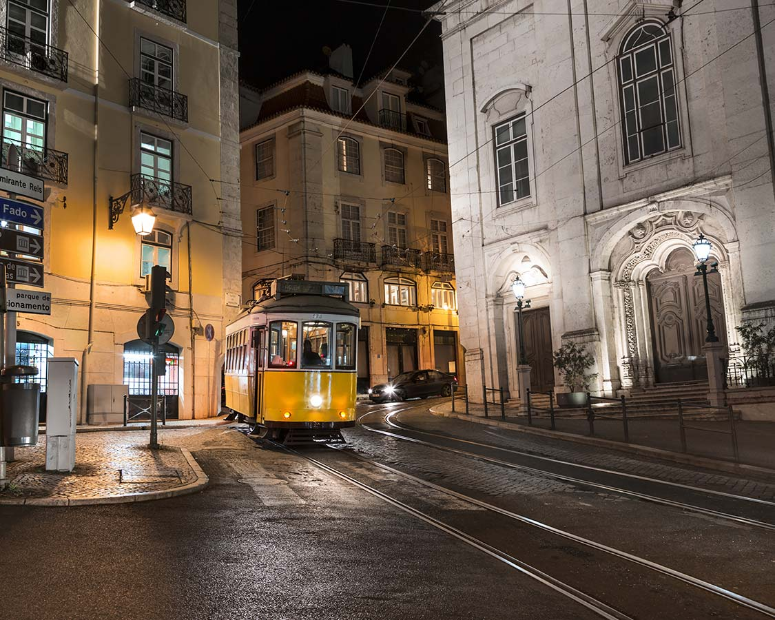 Lisbon with kids Tram 28 cable car