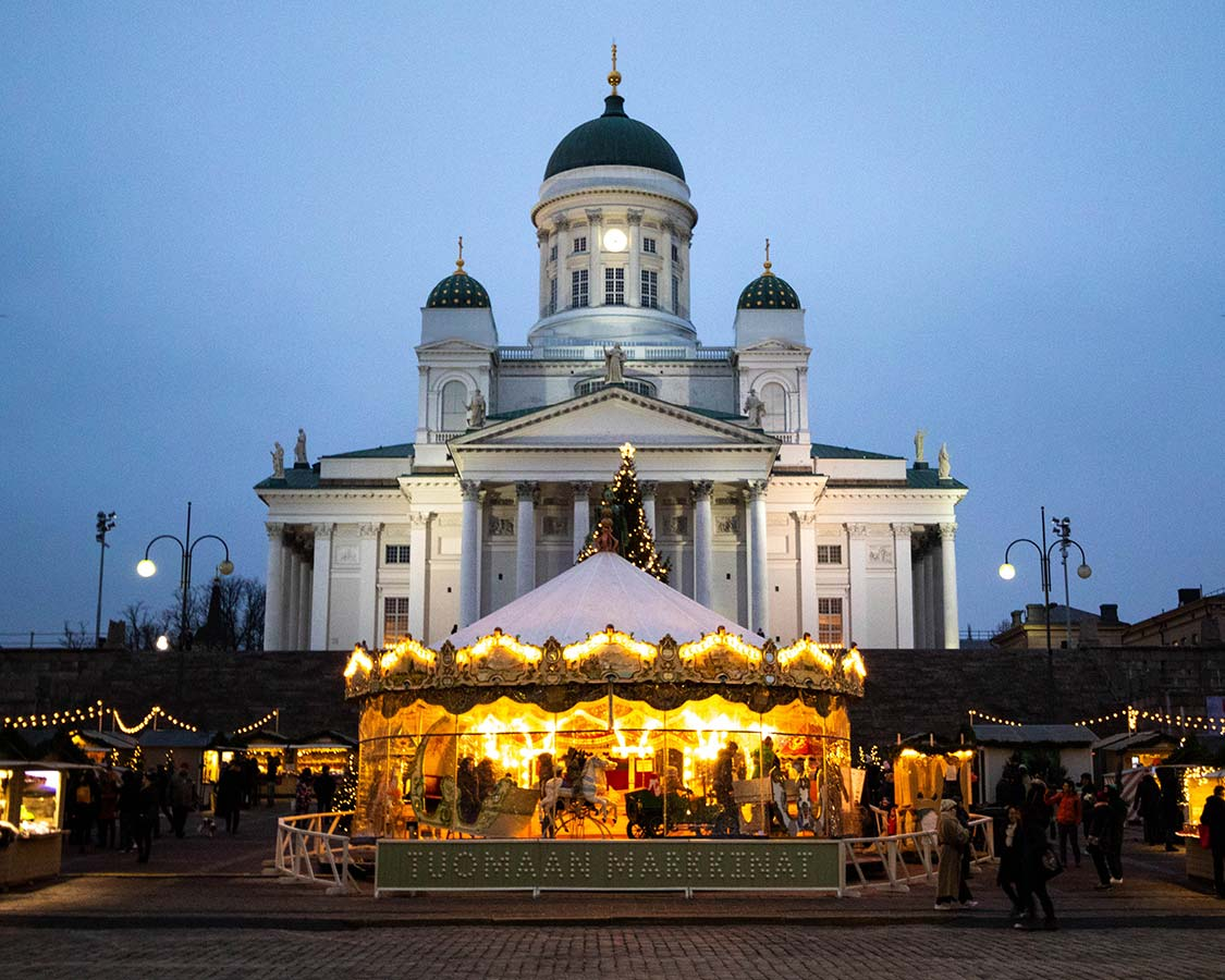 Things to do in Helsinki Cathedral Christmas Market